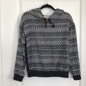Sea New York Hooded Knit Sweater